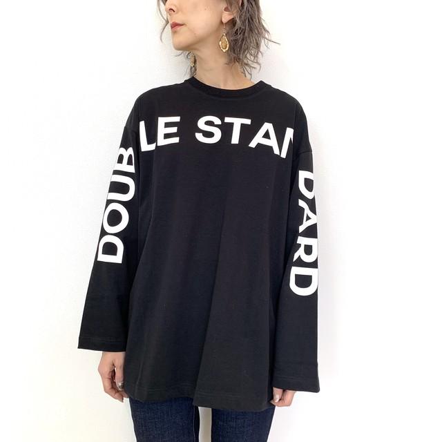 DOUBLE STANDARD CLOTHING   ESSENTIAL (ダブルスタンダードクロージング エッセンシャル) ロゴロングTシャツ 2508000204