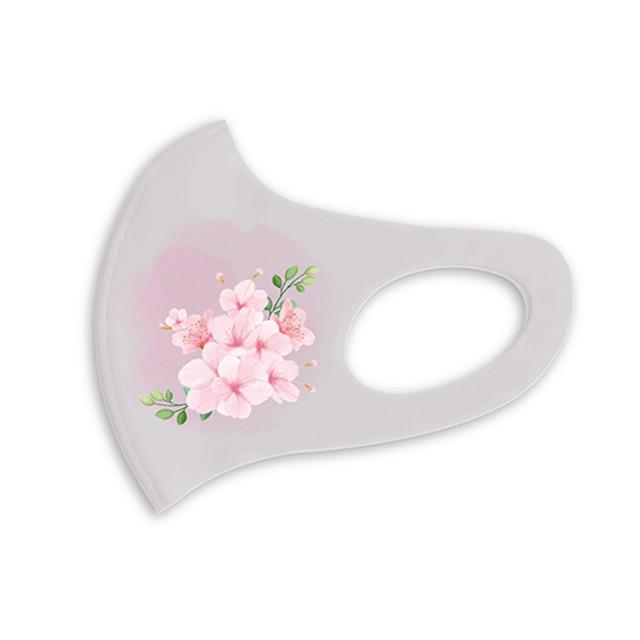 デザインマスク1枚   Flower (Sakura)