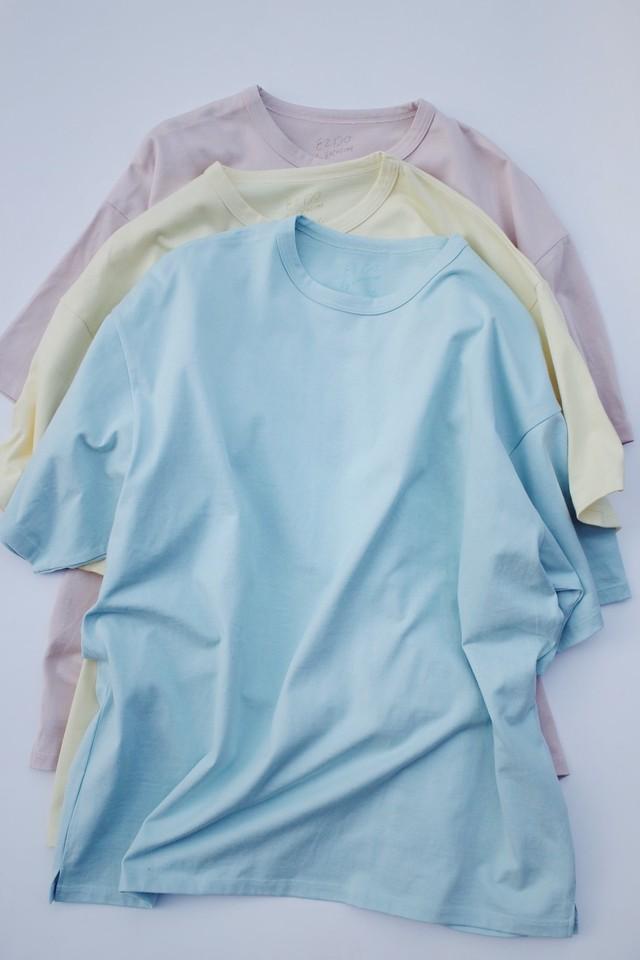 EZ DO by EACHTIME. Pastel Plain T-Shirt