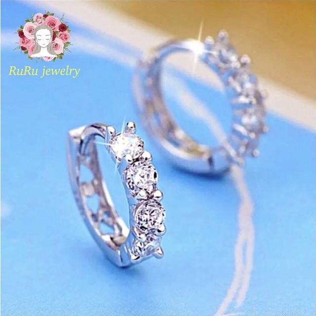 Star moon silver(pierce)