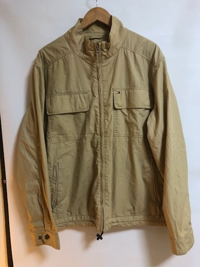 (USED COLLECTION ) TOMMY HILFIGER  NYLON JACKET  XLサイズ
