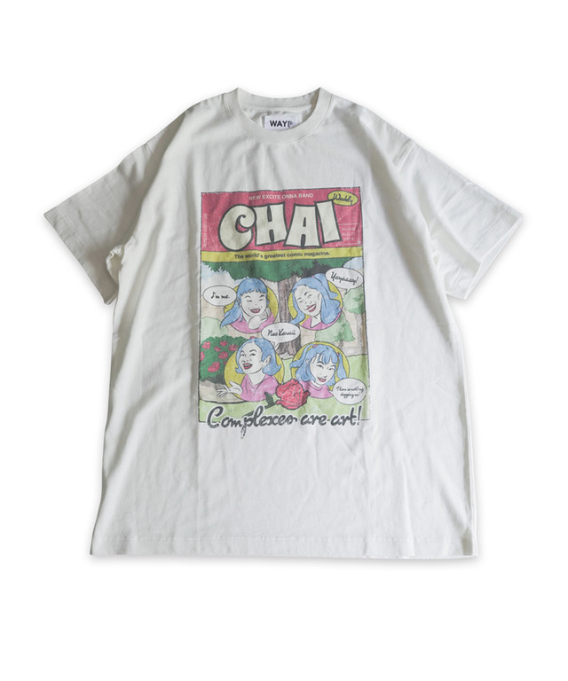 CHAI  Tシャツ by  WAYP MUSIC