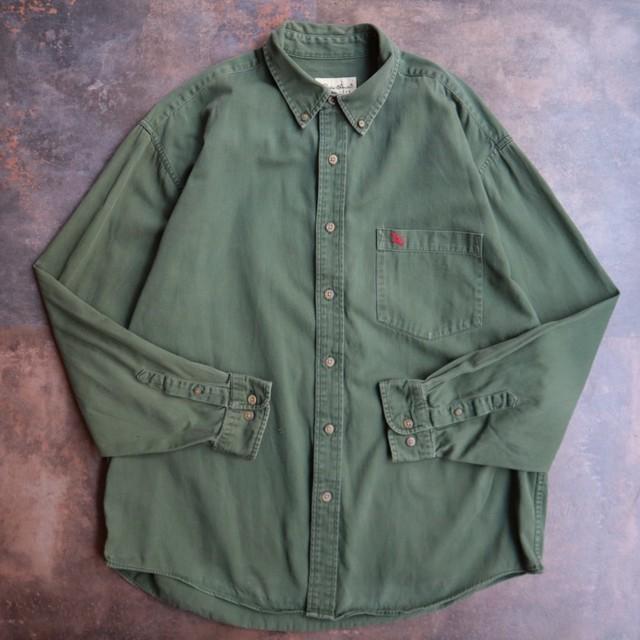 Eddie Bauer cotton khaki shirt