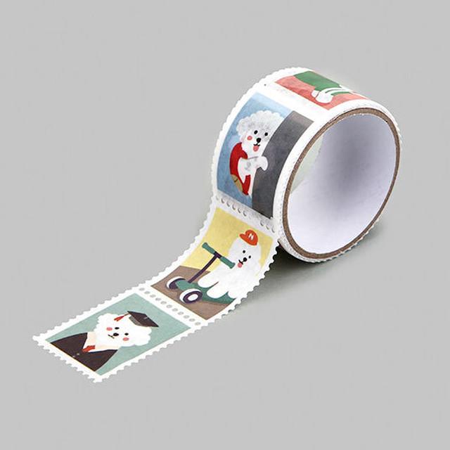 ホリデーデザインステッカー(いぬ)【犬シール 柴犬 コーギー プードル フレンチブル パグ 79212】