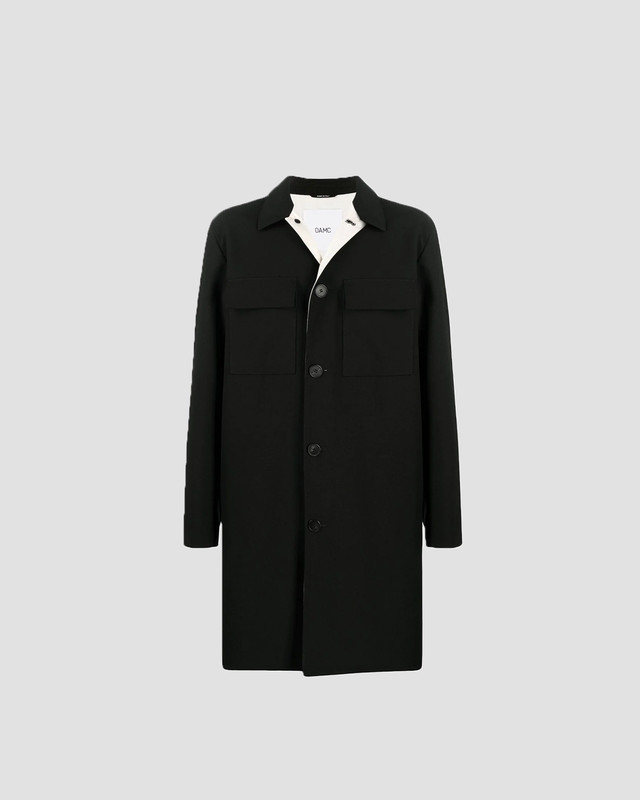 OAMC I.D.COAT,CAVALRY WOOL Black OAMR430238