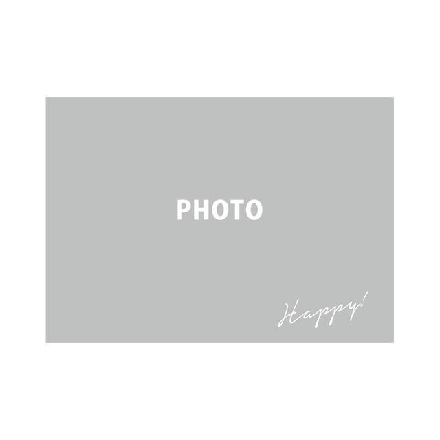 好きな写真でつくるフォトポスター「1Shot Happy」