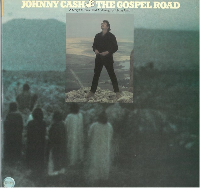JOHNNY CASH / THE GOSPEL ROAD   A Story Of Jesus  (LP)  USA盤