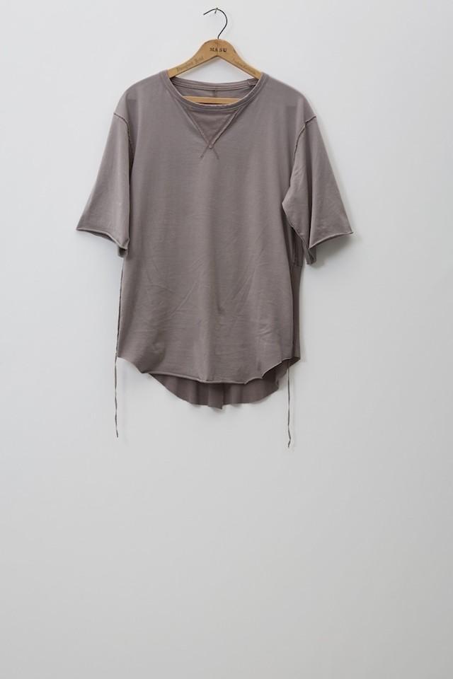 M A S U / FROCK T-SHIRTS(GREIGE)