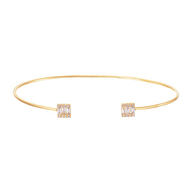 K18YGダイヤモンドブレスレット 040209000905