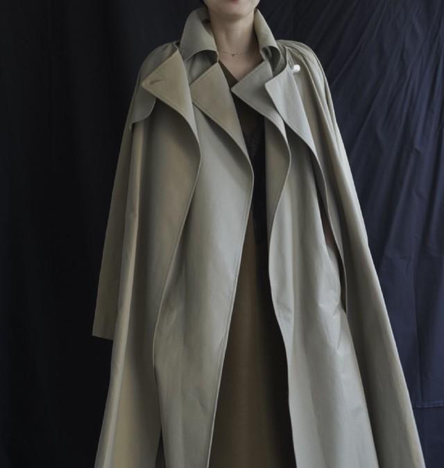 Chambray Trench coat
