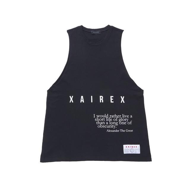 XAIREX LOGO TANK(BLACK)