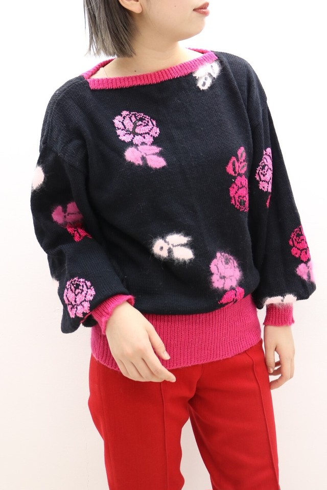 rose design knit / TP11190005