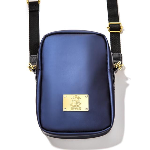 EMILYSSA SW CROSSBODY BAG Lサイズ /Navy × GOLD(ネイビー × ゴールド)