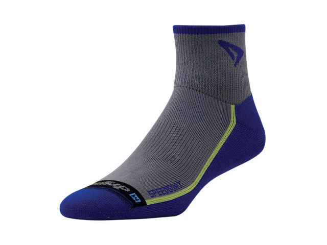 【drymax】 Lite Trail Running 1/4 Crew(Blue)