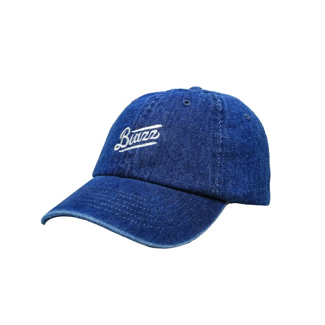 MINI LOGO DENIM WASH CAP [DARK BLUE]