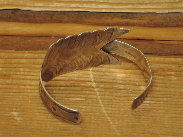 "INDIAN JEWELRY "" VINTAGE ARROWS BANGLE """