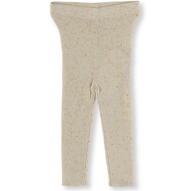 Grown / Ribbed Speckle Leggings - Golden Speckle -