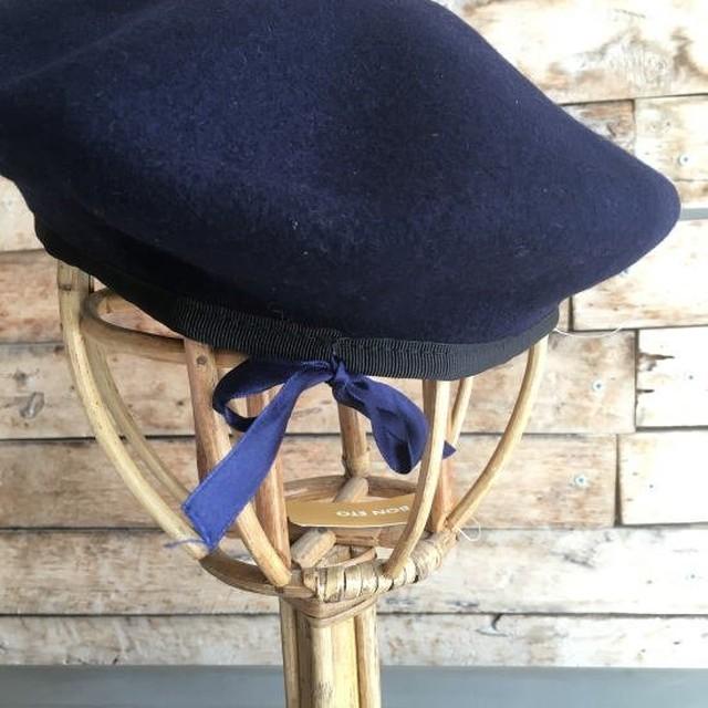 ポルトガルタイプ ウールベレー帽