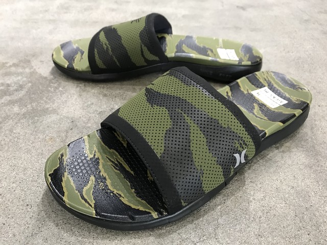 KICKS/HI x HURLEY PHANTOM FREE SLIDE (DISRUPT CAMO/BLACK)