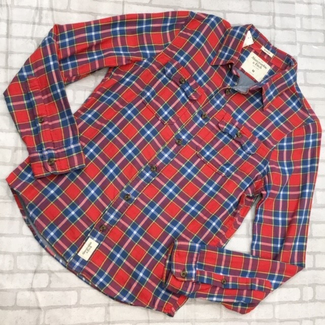 Abercrombie&Fitch MENS  ロングTシャツMサイズ