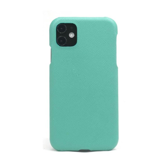 【エメラルドグリーン】シンプルケース iPhone / Galaxy / Xperia /  Googlepixel / Huawei / Oppo Reno / AQUOS