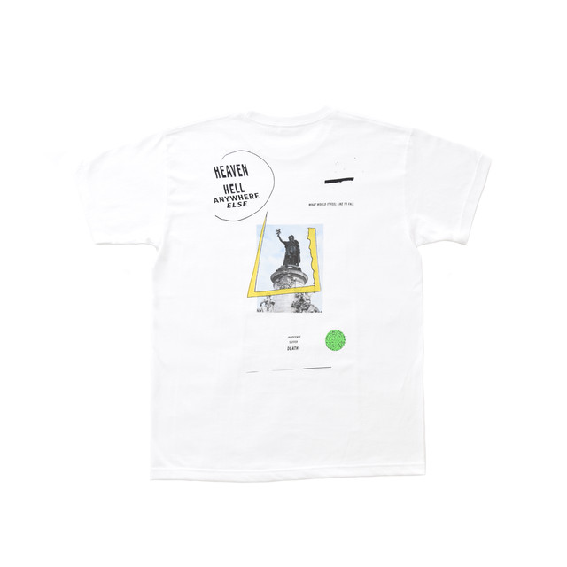 Allege Graphic Heaven Hell T-Shirt (BPS/ref. Exclusive Model) ALSPT-CT06 White
