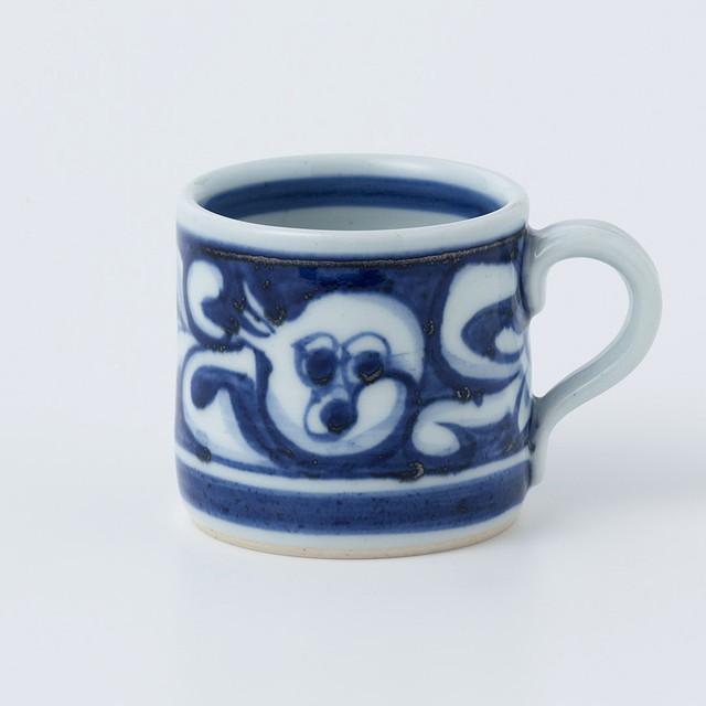01マグカップ(ザクロ唐草)