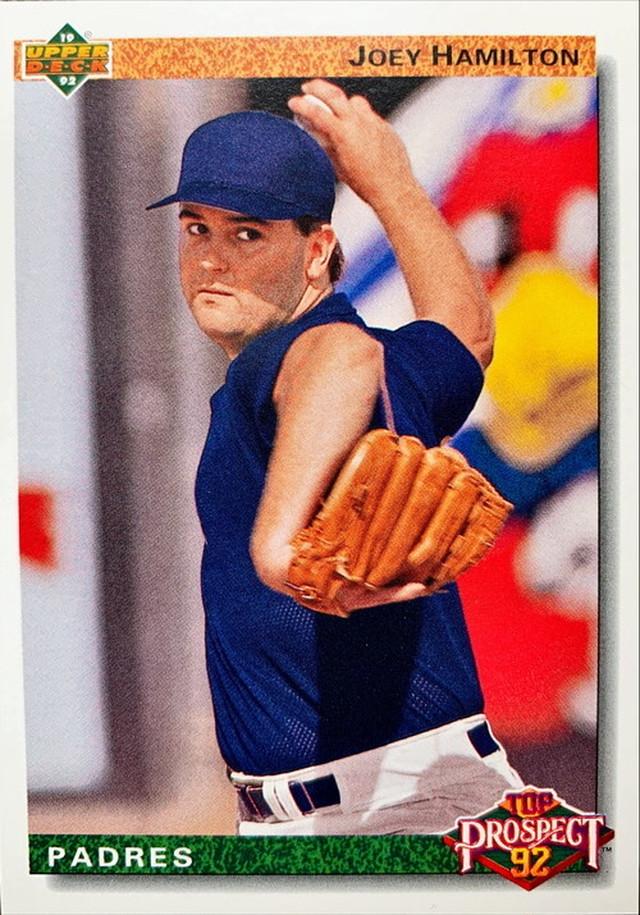 MLBカード 92UPPERDECK Joey Hamilton #067 PADRES