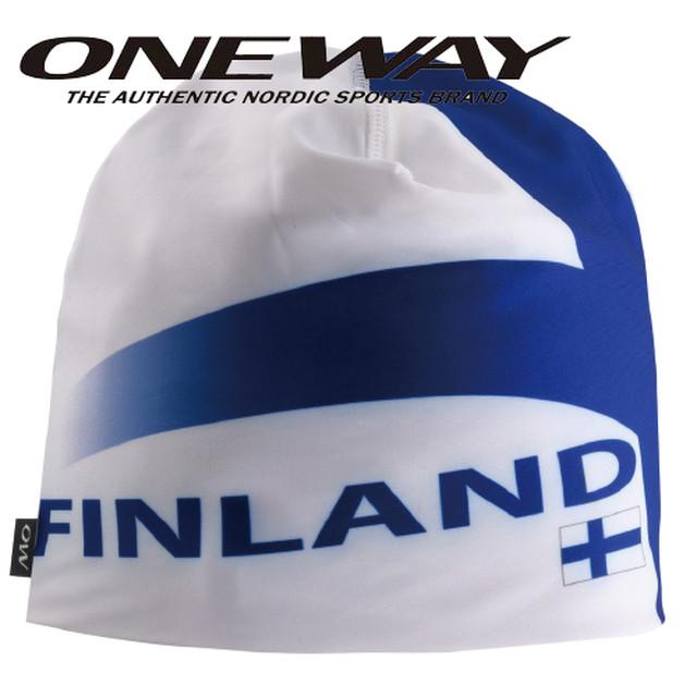 ONE WAY ワンウェイ キャップ フラッグハット フィンランド スキー クロスカントリー ow715132-FIN