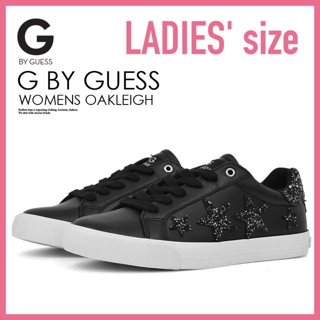G by GUESS (ジー バイ ゲス)ブラック WOMENS OAKLEIGH (オークリー) WOMENS ウィメンズ スニーカー グリッター ラメ BLACK MULTI LL (ブラック マルチ) GGOAKLEIGH BLACK MULTI