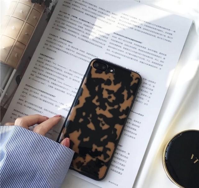 ◆予約◆レオパード柄iPhoneケース