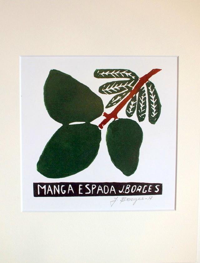 J.BORGES ジョタ・ボルジェス 木版画S 【MANGA ESPADA】