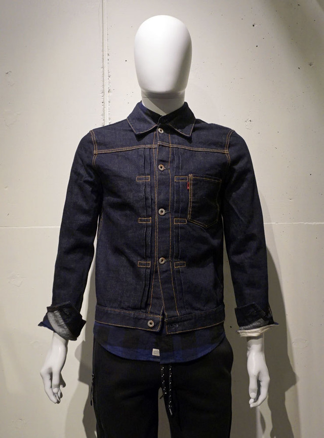 HOSU Type101 G Jkt 1st Model インディゴ