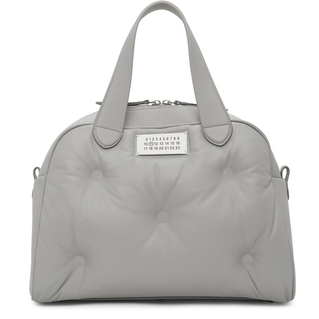 MAISON MRGIELA  Glam Slam  medium Bag   GREY