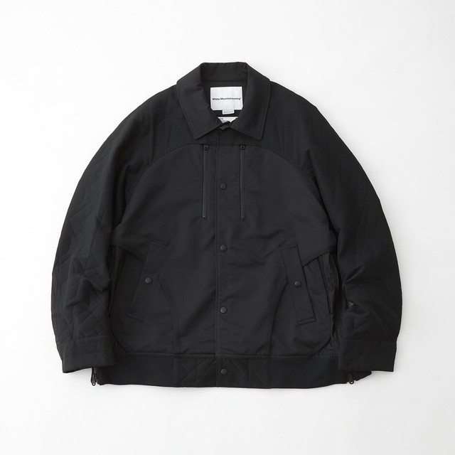 GORE-TEX INFINIUM PARQUEST JACQUARD LAYERED JACKET - BLACK