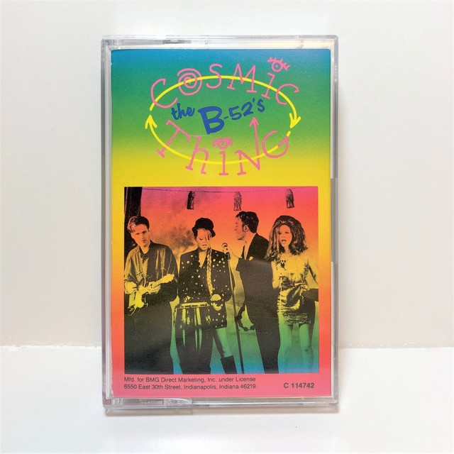 [中古カセット]  The B-52's ‎– Cosmic Thing