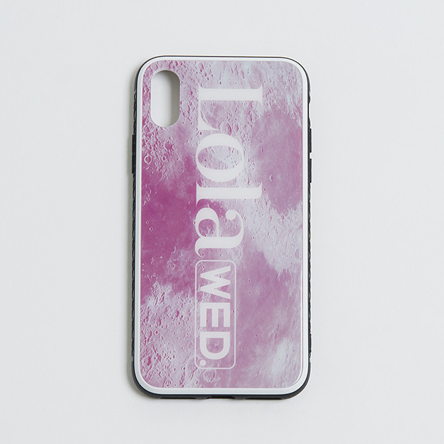 "【受注生産】""The Surface of the Moon"" Smartphone case:PINK"