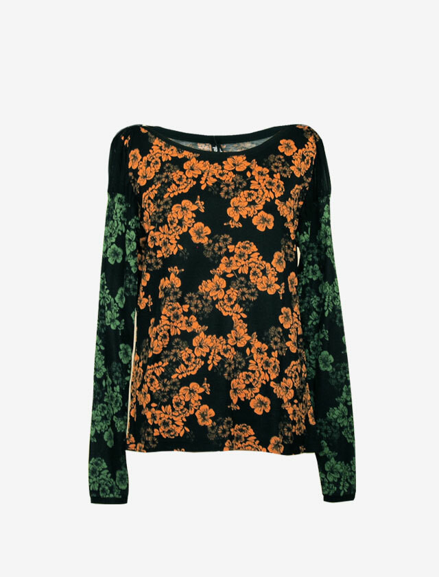 DESIGUAL BOTANICAL TOP
