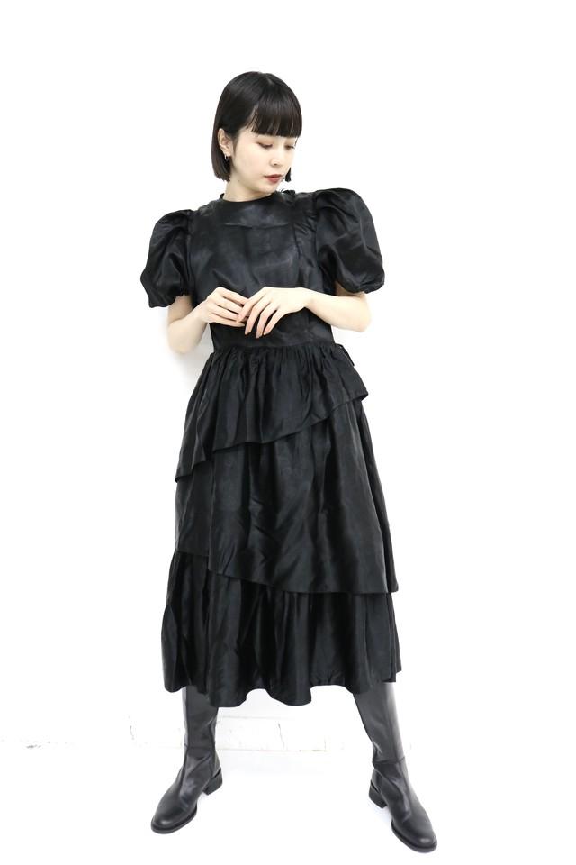 vintage teard skirt one-piece / 4SSOP05-01