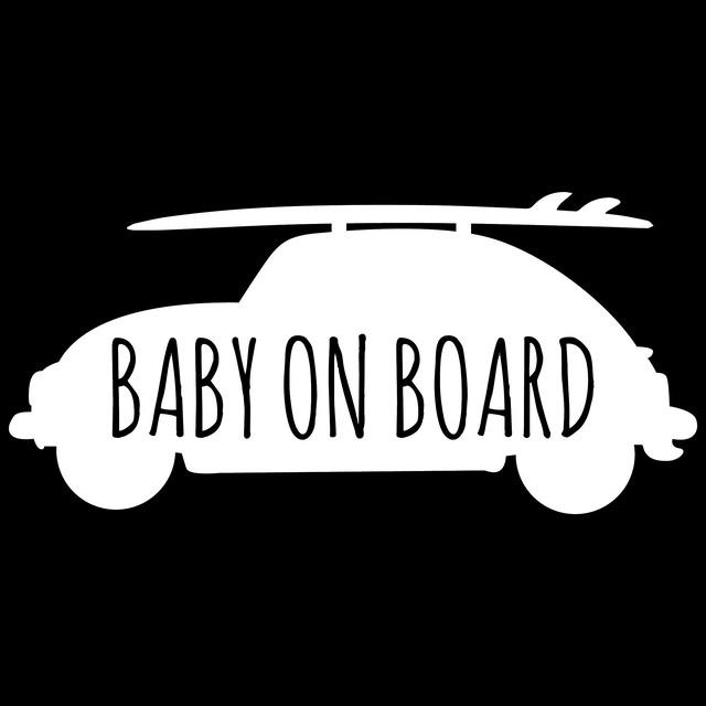 """BABY IN CAR"" ステッカー"
