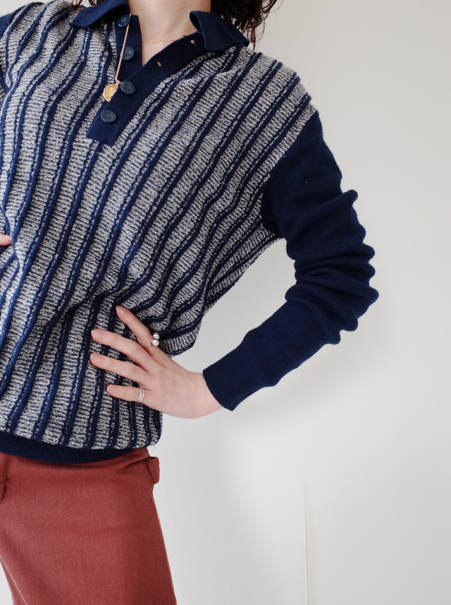 used half button tops