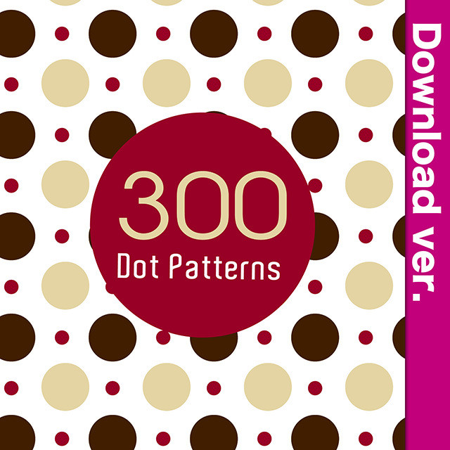 ★50%OFF★水玉素材集2-1/Dot Patterns_2-1