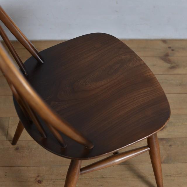 Ercol Thistleback Chair 【B】 / アーコール シスルバック チェア 〈ダイニングチェア・デスクチェア・椅子・コロニアル〉