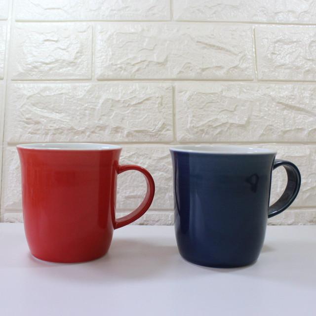 【アウトレット】波佐見焼 マグカップ  清山 キーポ オリジナル 二重構造 【tomofac】