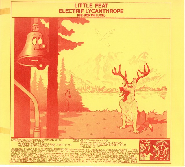 LITTLE FEAT / ELECTRICRIF LYCANTHROPE( BE-BOP DELUXE)  (USA盤)