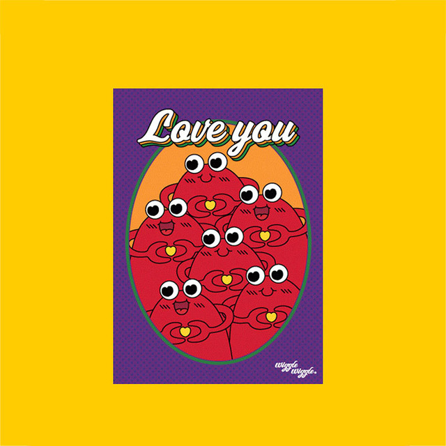 Postcard - Love you