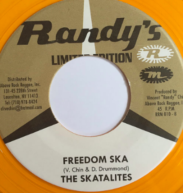 The Skatalites - Freedom Ska【7-10394】