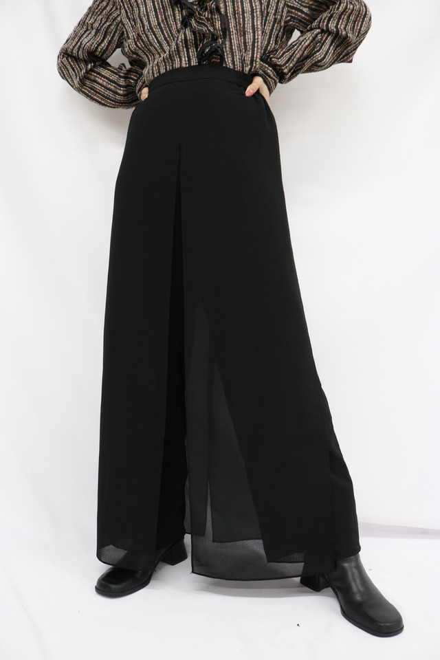 see-through pants / 5SSPT06-08