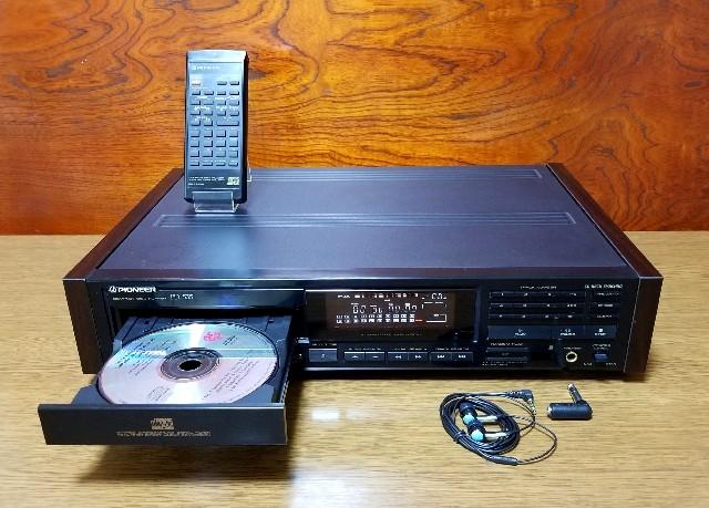 高音質CDプレイヤー PIONEER PD-535 訳あり・完動品
