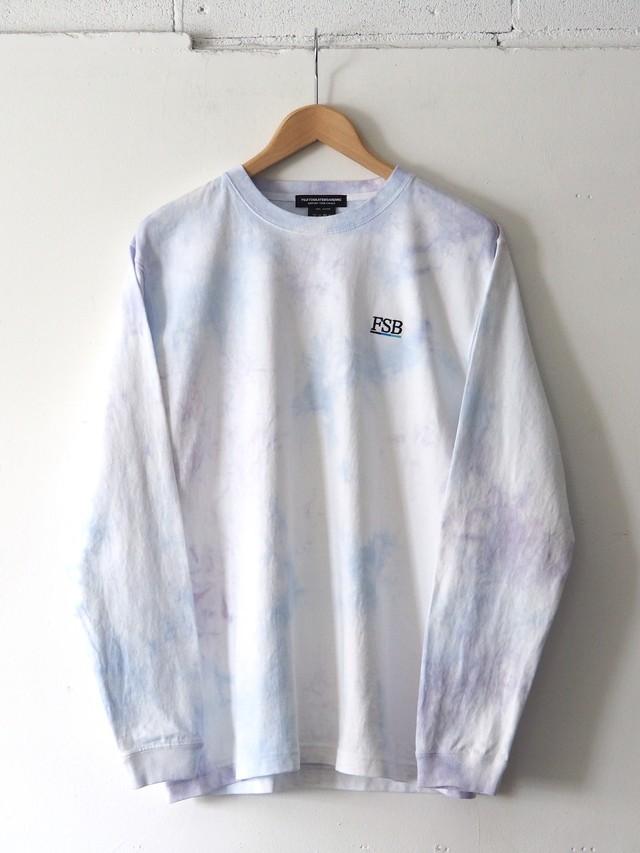 FSB L/S T-Shirt Color Bar Tie Dye ver. Blue/Purple